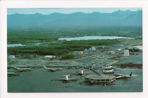 AK, Anchorage - International Airport postcard - A04071