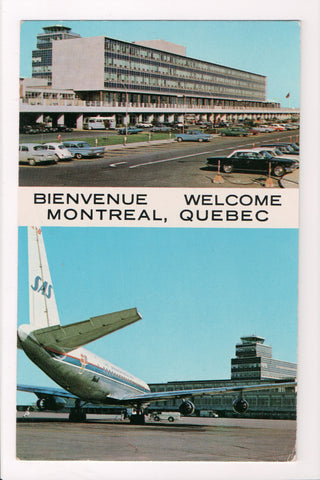 Canada - Montreal, QC - Montreal Airport Terminal Bldg (new) - @1964 - B06757