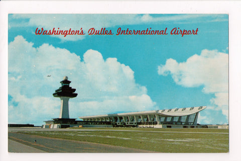 DC, Washington - Dulles International Airport postcard - J03268