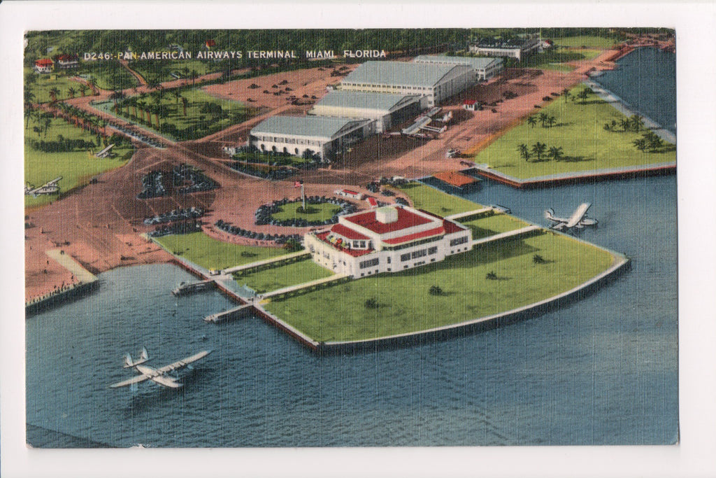 FL, Miami - Pan-American Airways Terminal, International Airport @1941 - MB0448