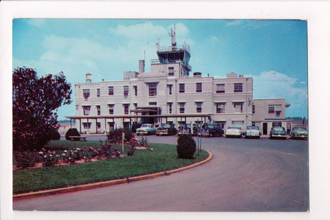 TN, Knoxville - Knoxville Municipal Airport, McGhee Tyson postcard - SH7094