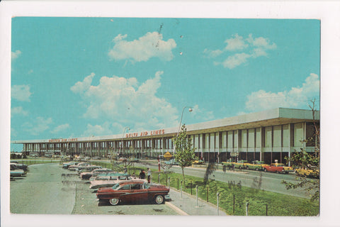 NY, Queens - Airport Postcard - JFK, Kennedy International - w00679