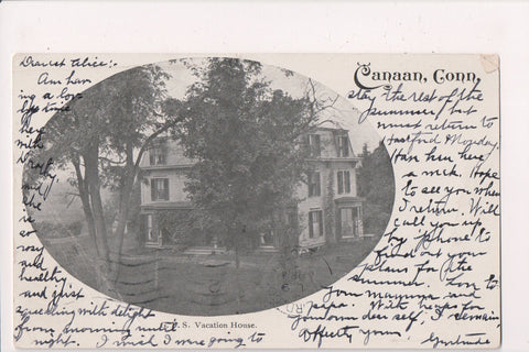 CT, Canaan - Vacation House postcard - B05333
