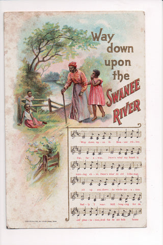 Black Americana - Way down upon the SWANEE RIVER, music score - B10111