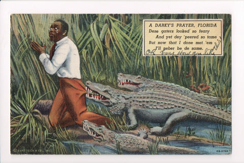 Black Americana - A Darkys Prayer - Alligators - C17468