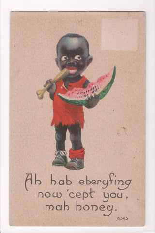 Black Americana - Dark child, watermelon (ONLY Digital Copy Avail) - E09113