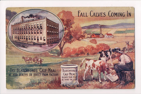IL, Waukegan - BLATCHFORDS CALF MEAL Advertisement - MB0794