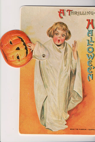 Halloween - Thrilling Hallowe'en - Mechanical 1981 REPRODUCTION - C17054