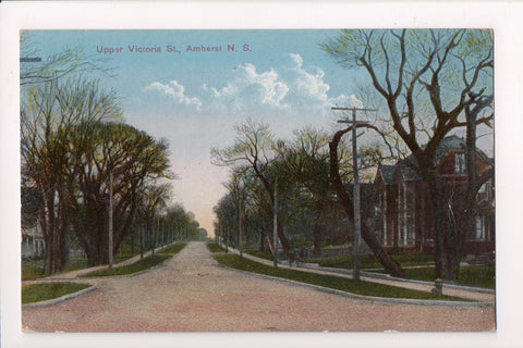 Canada - Amherst, NS - Upper Victoria St - @1932 postcard - R00603