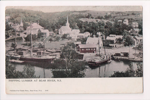 Canada - Bear River, NS - @1916 postcard - for Clarke Bros - R00517