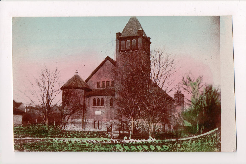 Canada - Bradford, ON - Presbyterian Church, @1909 postcard - C08414