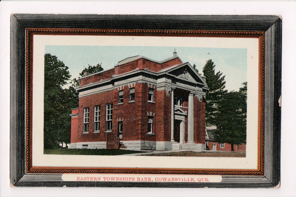 Canada - Cowansville, QC - Eastern Townships Bank, as if framed - B11131