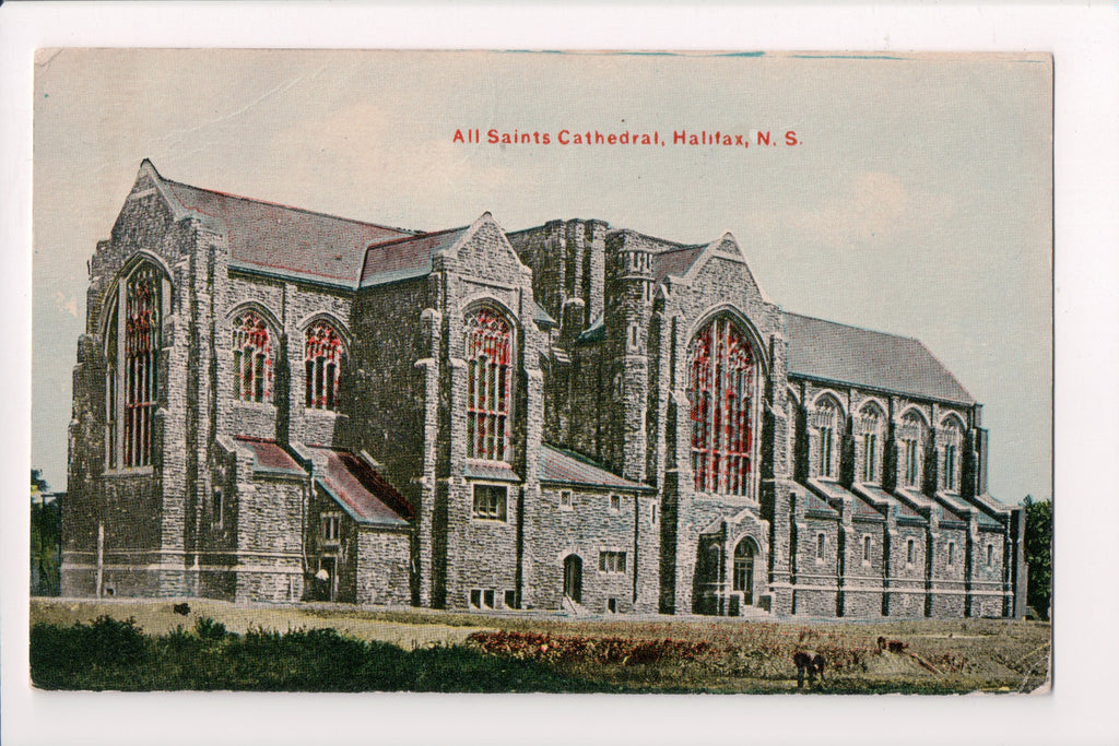 Canada - Halifax, NS - All Saints Cathedral - @1911 postcard - R00694