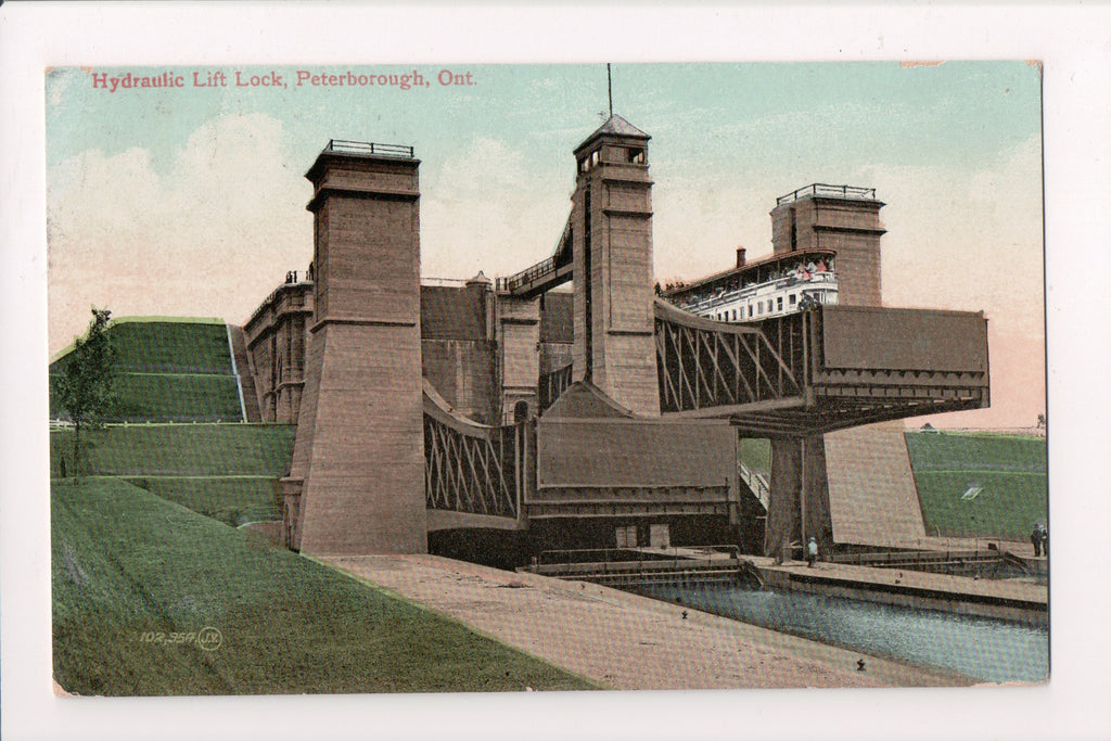 Canada - Peterborough, ON - Hydraulic Lift Lock postcard - S01783