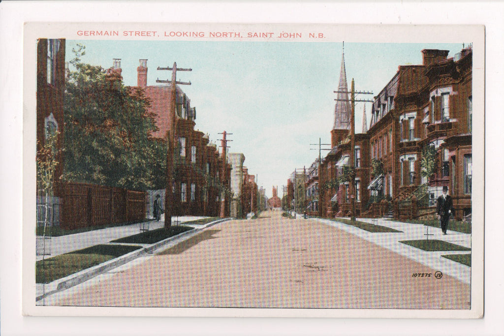 Canada - Saint John, NB - Germain St postcard - R00771