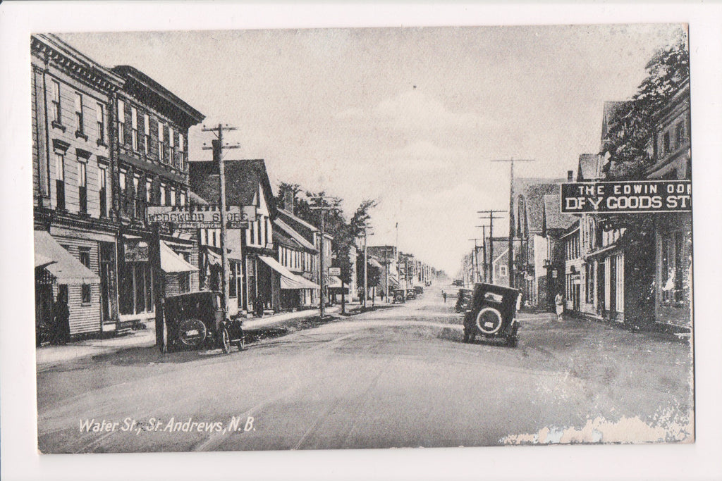 Canada - St Andrews, NB - Water St, WEDGWOOD STORE postcard - w05222