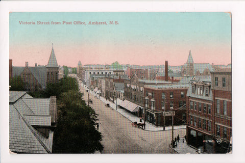 Canada - Amherst, NS - Victoria St, R C Fuller and Co Druggist - R00511