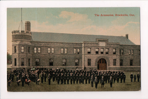 Canada - Brockville, ON - The Armouries (Armory), band members - w01880