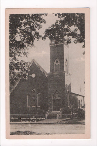 Canada - Coaticook, QUE - Baptist Church, Eglise Baptiste - B11243