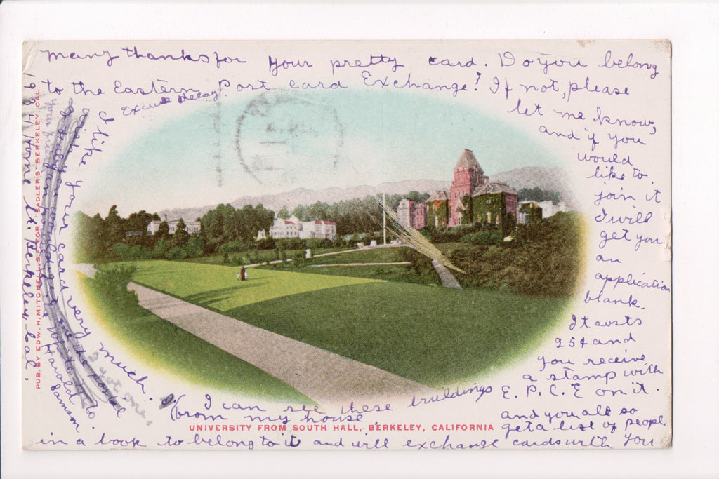 CA, Berkeley - University from South Hall (ONLY Digital Copy Avail) - A12281