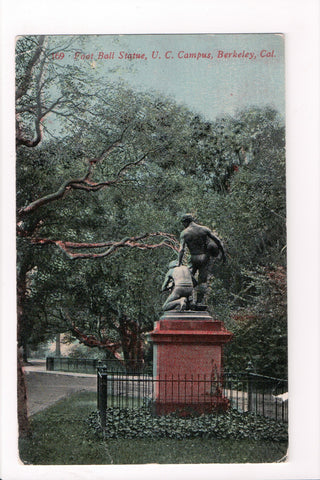CA, Berkeley - Univ of CA, Foot Ball Statue (ONLY Digital Copy Avail) - w03214