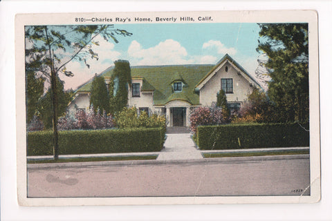 CA, Beverly Hills - Charles Ray Home residence - A06742