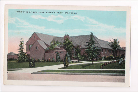 CA, Beverly Hills - Lew Cody residence - A06744