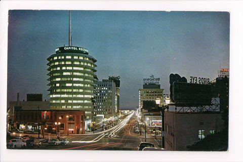 CA, Hollywood - Vine Street - Capital Records etc - w01009