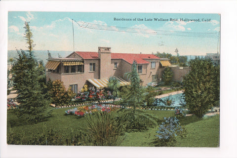 CA, Hollywood - Wallace Reid (the late), residence - w03729