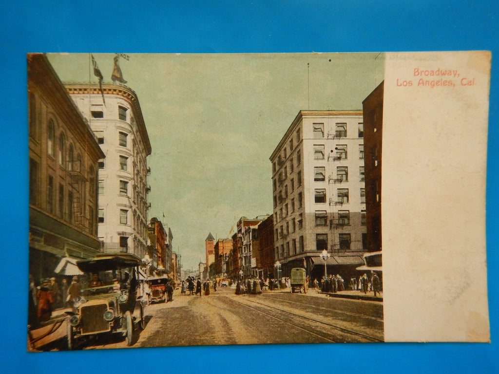 CA, Los Angeles - Broadway street scene - D04139