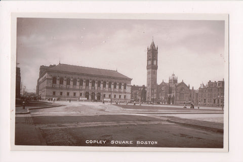 MA, Boston - Copley Square RPPC - Bamforth pub - CP0363