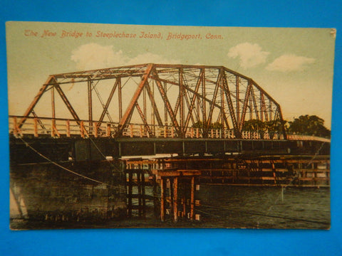 CT, Bridgeport - New Bridge to Steeplechase Island (ONLY Digital Copy Avail) - H15083