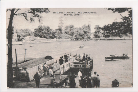 CT, Bristol - Lake Compounce, Speedboat Landing - MB0249