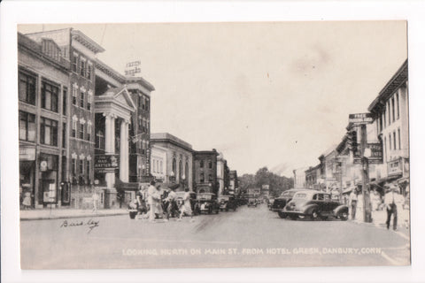 CT, Danbury - Main St, Mad Hatter, Hotel Green (ONLY Digital Copy Avail) - C08645