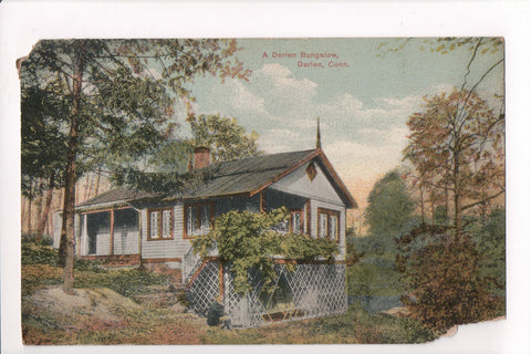 CT, Darien - Bungalo with man near lattice work (ONLY Digital Copy Avail) - B17072