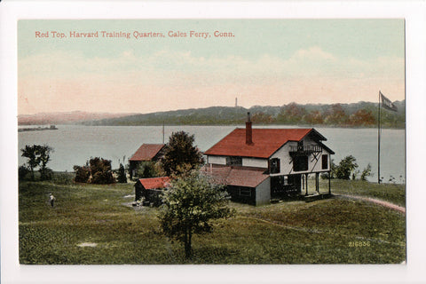 CT, Gales Ferry - Red Top, Harvard Training Quarters - K04047