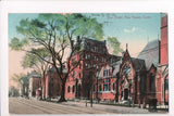 CT, New Haven - Elm Street postcard - w03640