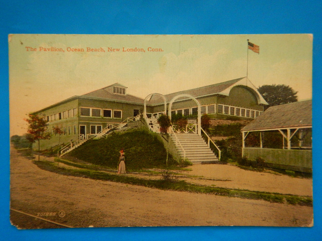 CT, New London - Ocean Beach Pavilion postcard - F09012