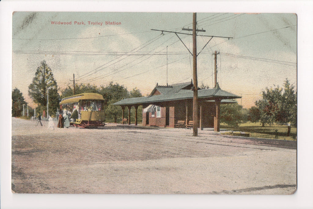 CT, Putnam - Wildwood Park, Trolley Station - NL0160