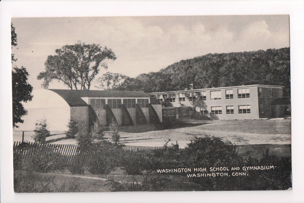 CT, Washington - High School and Gymnasium - EP0167