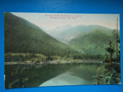 Canada - Alta Lake, BC - Rainbow Lodge area - C-0033