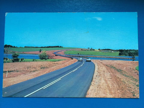 Canada - Bayview, PE - Scenic View, Highway scene postcard - w03946