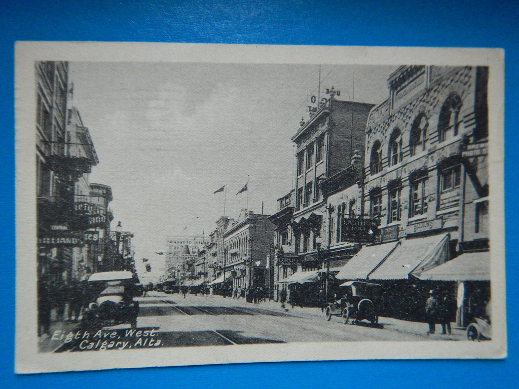 Canada - Calgary, AB - Eight Ave, West postcard - D07022