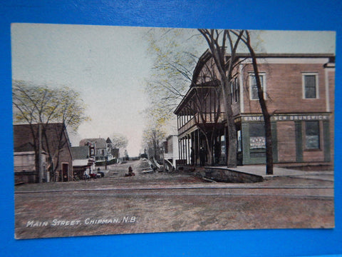Canada - Chipman, NB - Main Street, Bank of New Brunswick - D05213