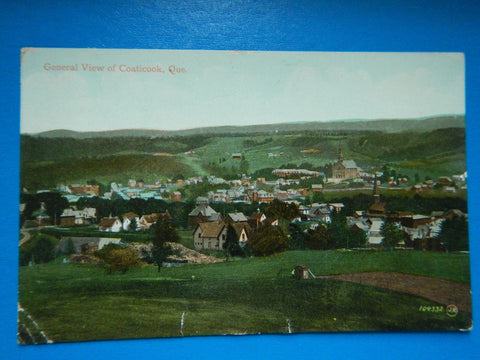 Canada - Coaticook, QC - BEV of the town - S01733