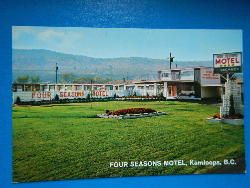 Canada - Kamloops, BC - Four Seasons Motel - C-0093