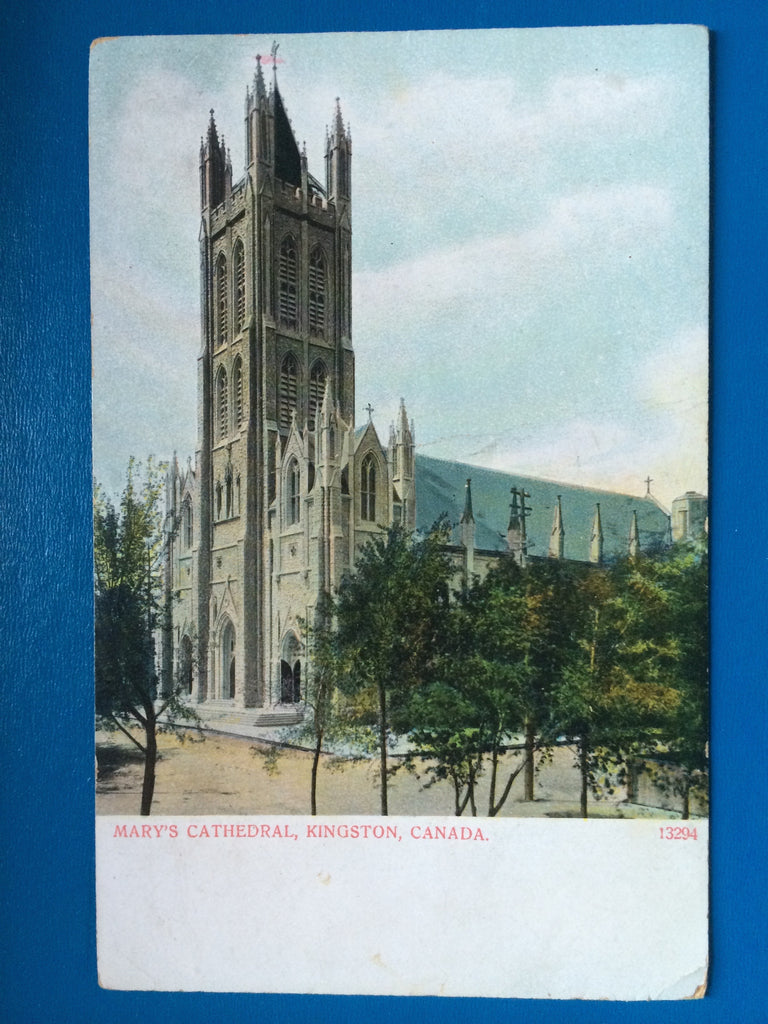 Canada - Kingston - Marys Cathedral postcard - A07349
