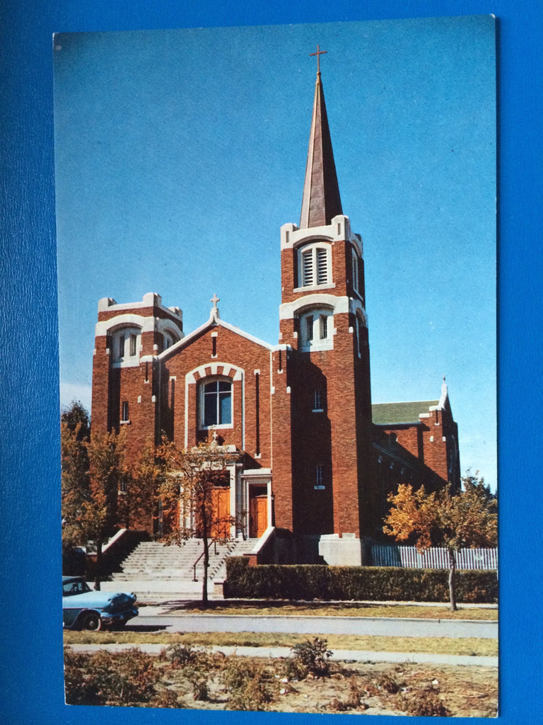 Canada - Moose Jaw, SK - St Josephs RC Church postcard - C-0121