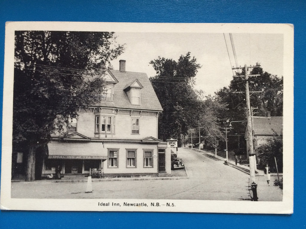 Canada - Newcastle, NB - Ideal Inn, Tea Room - D07147
