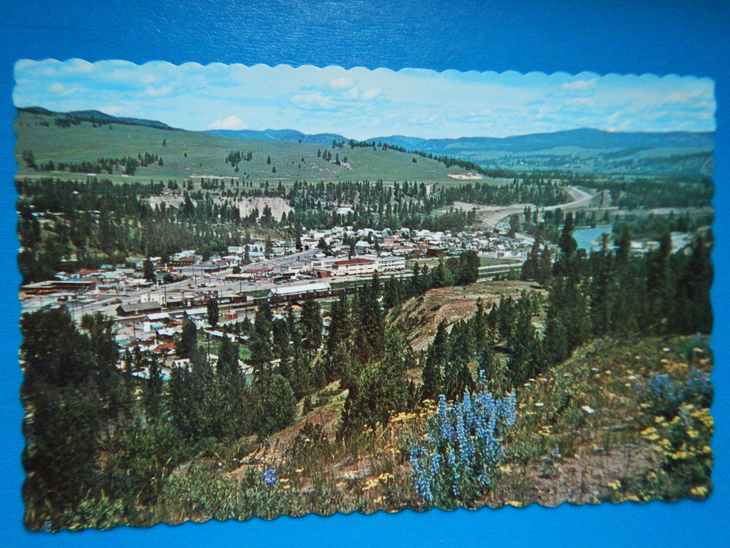 Canada - Princeton, BC - BEV overlooking the town - MA0211